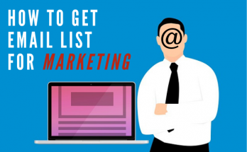 how to get email list for marketing