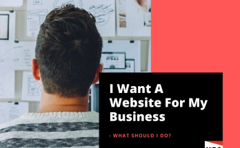 I want A website for my business