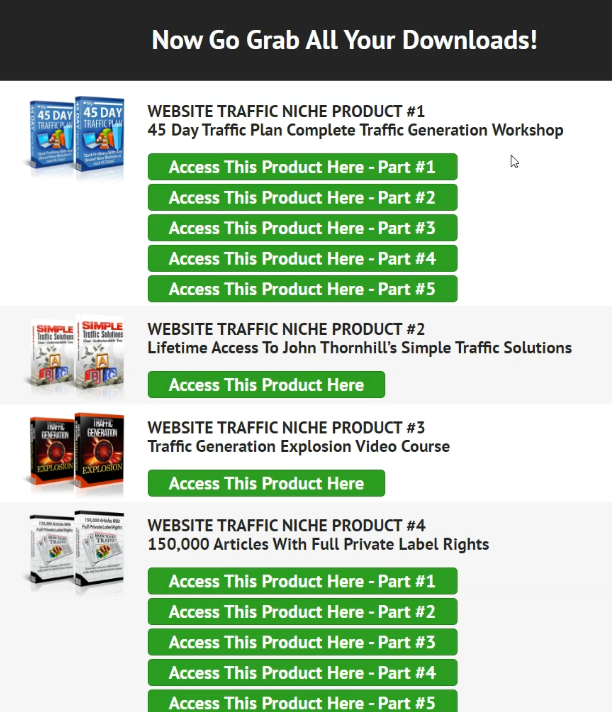 niche marketing kit products