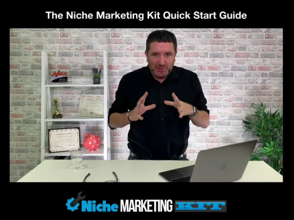 Niche marketing kit inside product