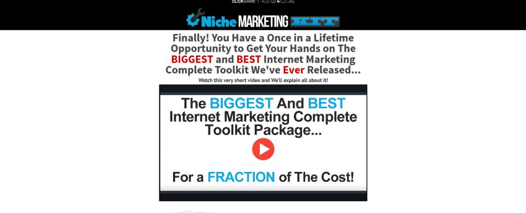 niche marketing kit product