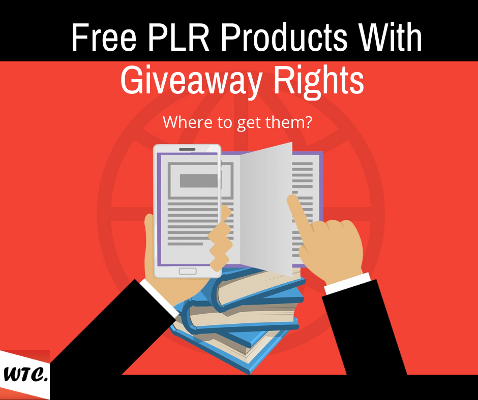 free plr products with giveaway rights