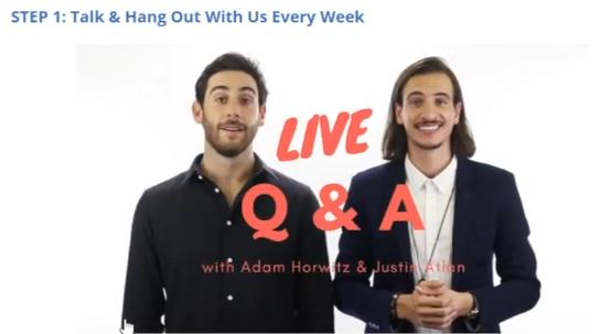live q&a clickbank