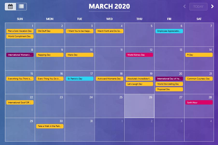 content marketing calendar plr.me