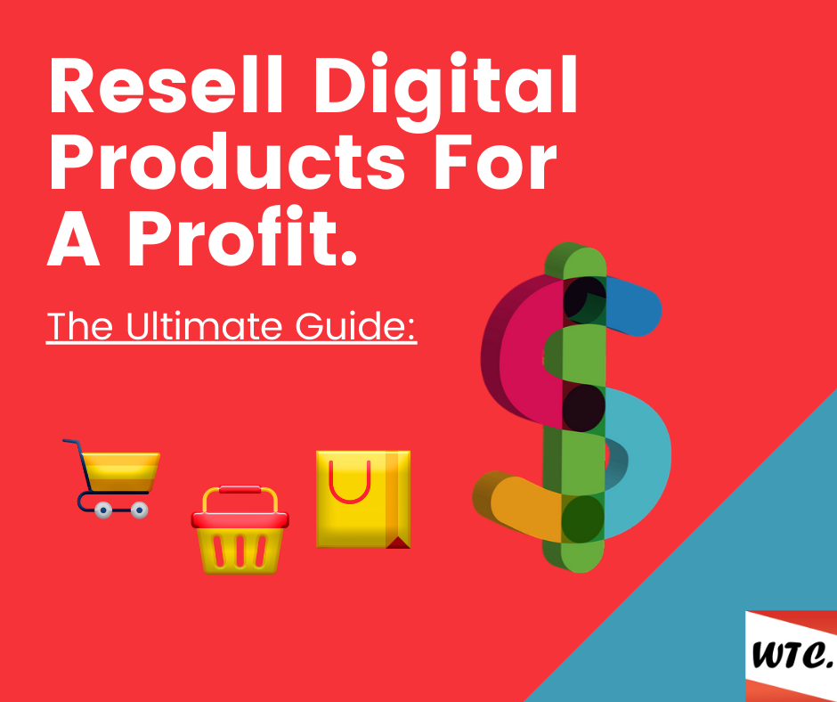 resell digital products