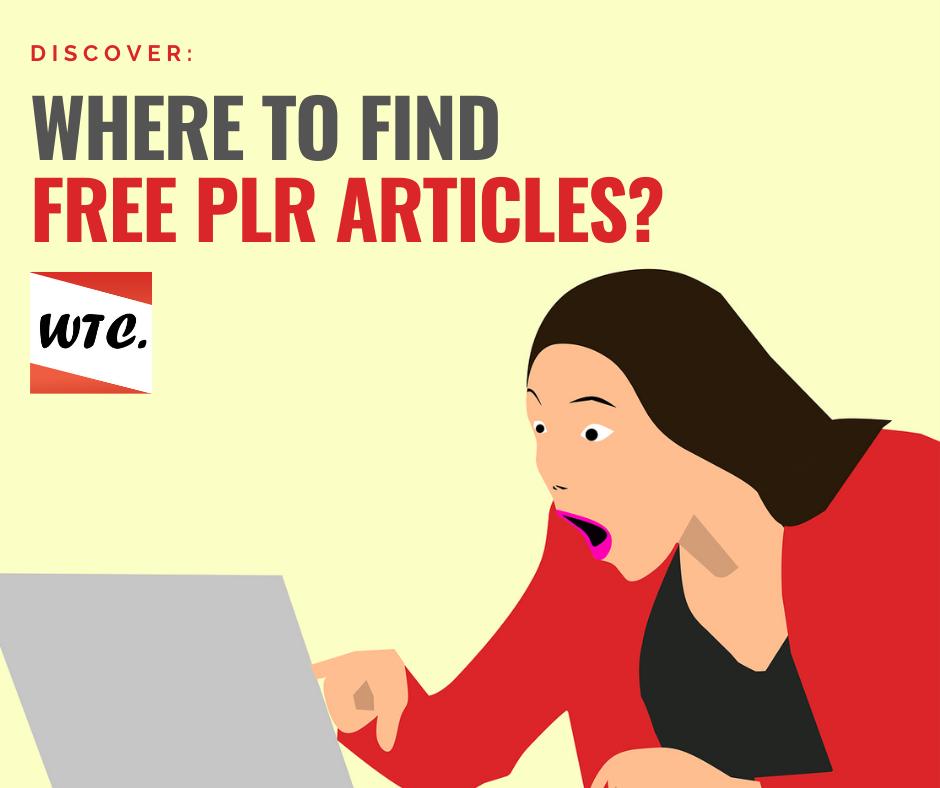 free plr articles