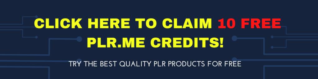 free plr me credits