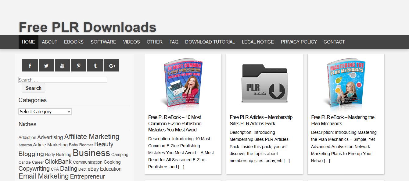 free plr downloads