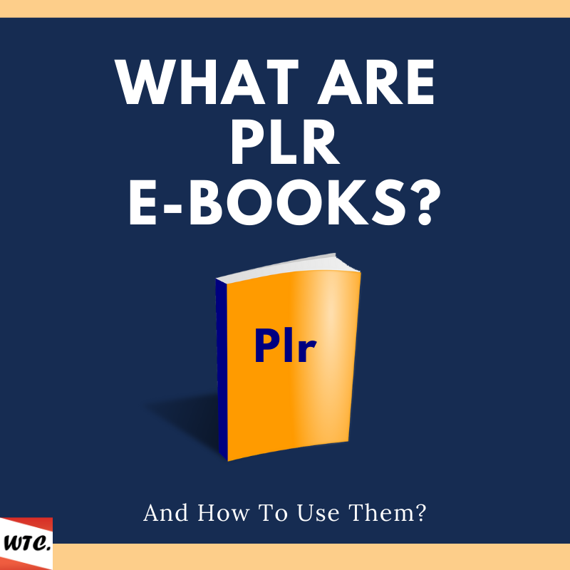 what are plr ebooks