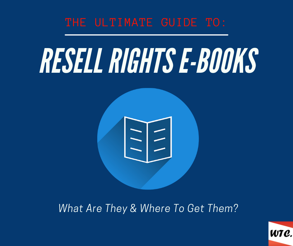resell rights ebooks