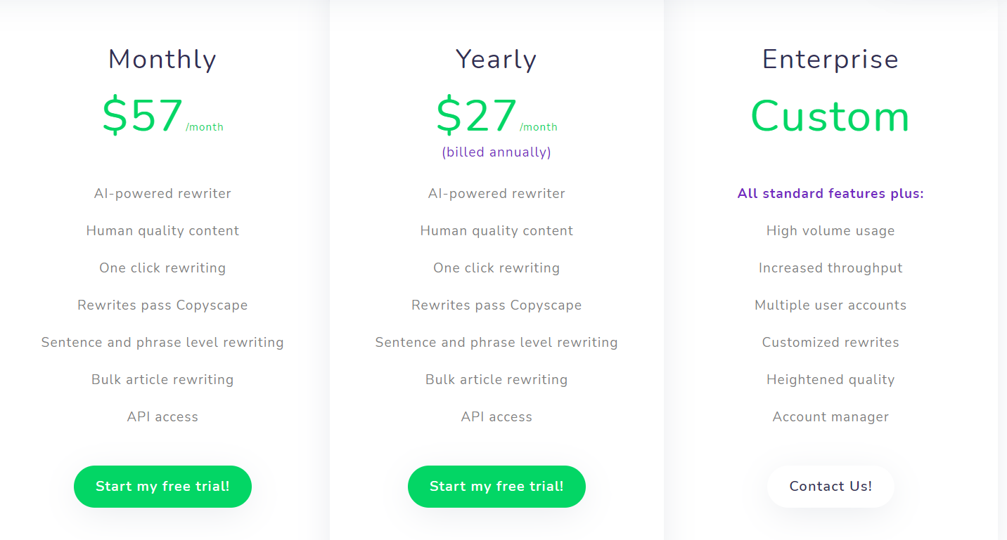 word ai pricing