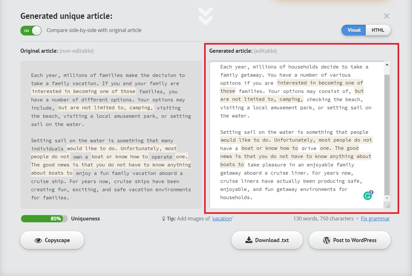 spin rewriter vs chimp rewriter